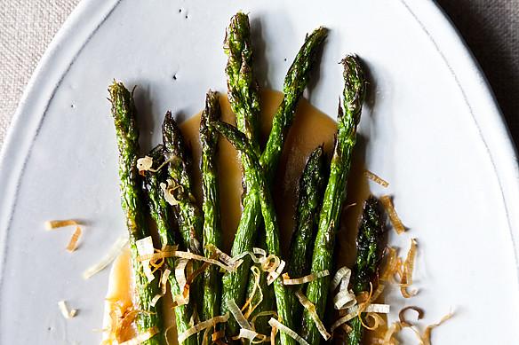 nobu's fried asparagus