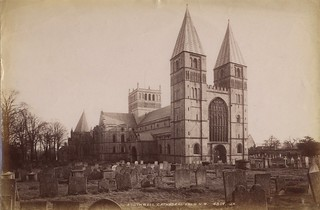01 - Photograph of Southwell Minster from north west (ref PR25121)