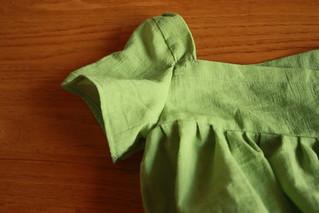 1790s girl's dress