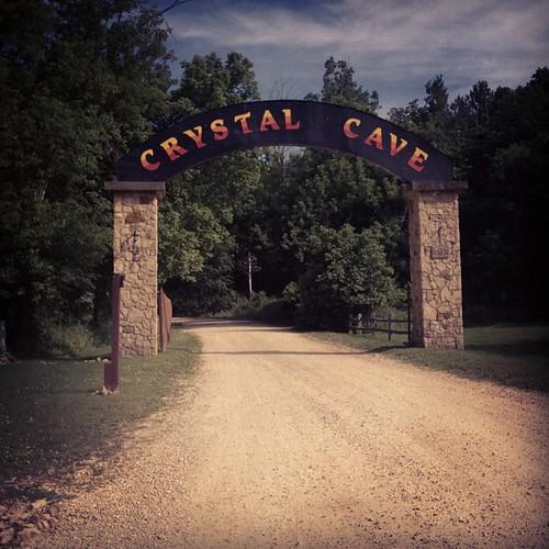 Ominous. #crystalcave