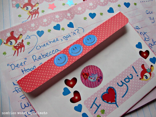 Letter for Rebecca