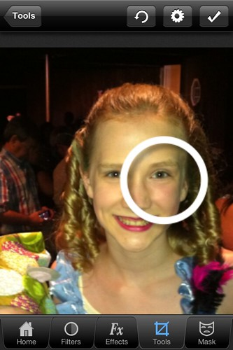 Red Eye Correction with Photo Wizard