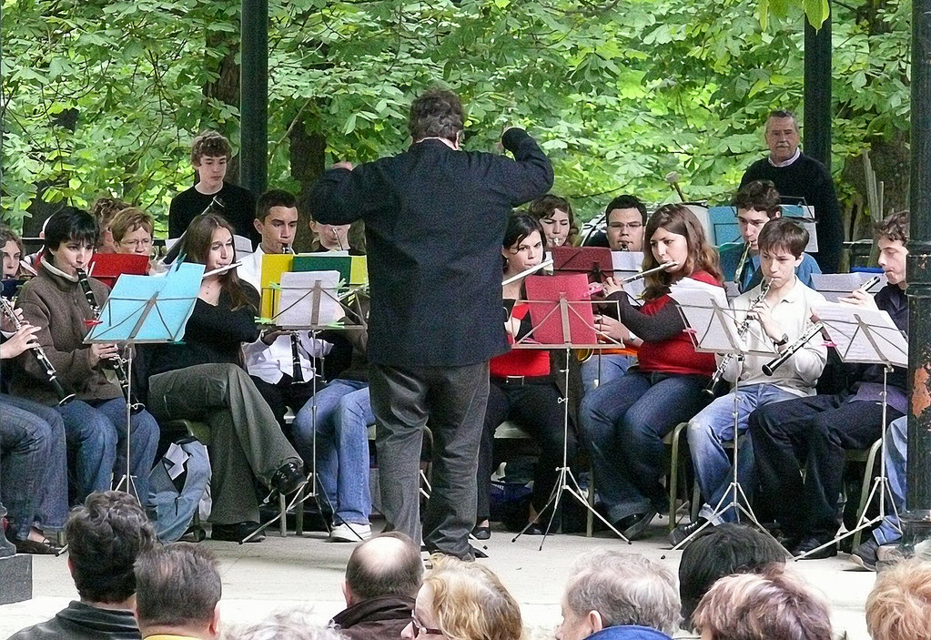 Orchestra in the Garden