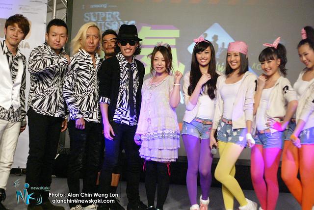 AFA Malaysia 2012 - Japanese singer line up 2