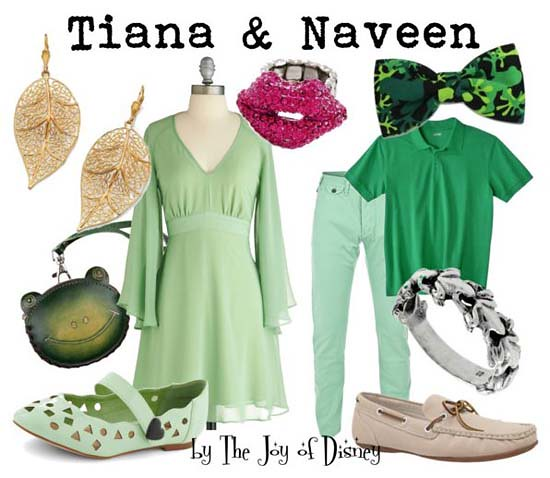 Princess and the Frog: Tiana & Naveen