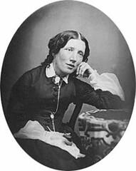 """<p>Harriet Beecher Stowe (1811-1896), schrijfster van de """"Hut van Oom Tom"""", de meest belangrijke tekst voor de afschaffing van slavernij in de VS. bron: Wikipedia.</p>"""