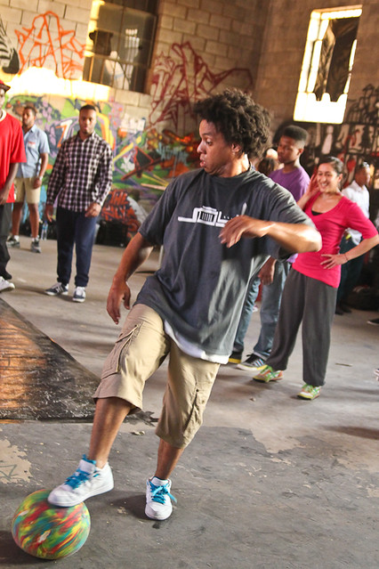breakdancer at Blended