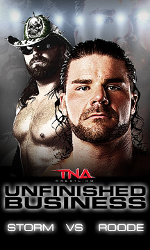 Unfinished Business - Roode vs Storm