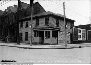 North east corner of Elizabeth and Albert streets