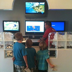 Checking the weather during their Pre-Flight training with Young Eagles #homeschool Adventure to remember! #swfl