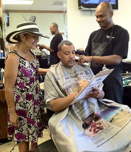 Barbers and Beauty Salons for Obama
