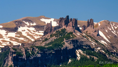 The Castles on Ohio Pass Colorado
