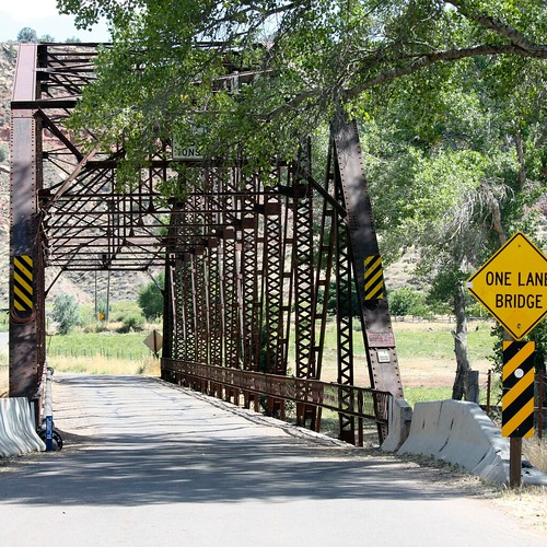 Bridge to Grafton, UT