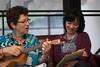 Nancy and Leva at Moosecamp by cogdogblog