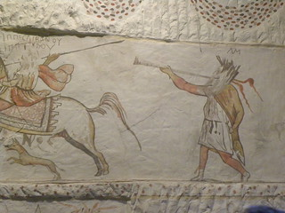 Hellenistic tomb paintings at Marisa X