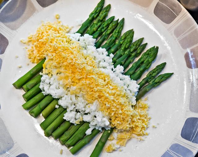 Asparagus Mimosa | Flickr - Photo Sharing!