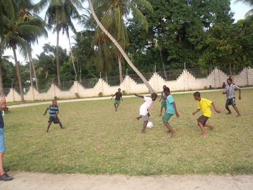 Soccer School Kenya Style