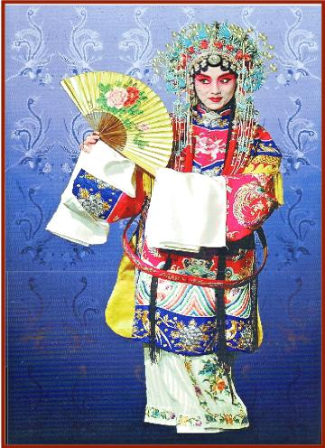 Tan Character of the Peking Opera