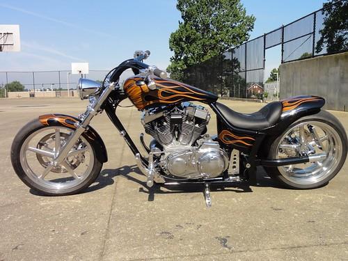 Custom Motorcycle Paint by studio2