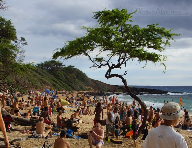 naturist 0001 Little Beach, Maui, Hawaii, USA