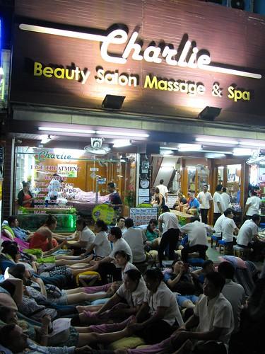 Masajes en calle Rambuttri