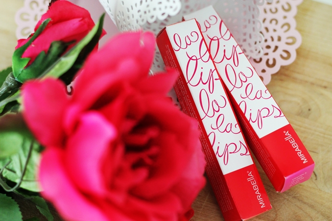 Review Mirabella LaLa Lips Velvet Lip Pencils