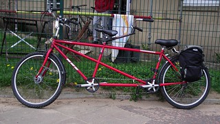 here's the bicycle built for two, where is Daisy?