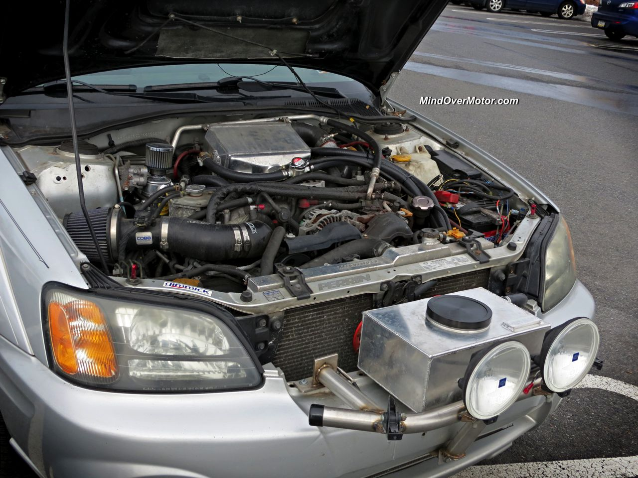 Subaru Baja From Hell Air To Water Intercooler