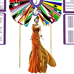 Colour of Couture Charity Challenge - presentation display 2