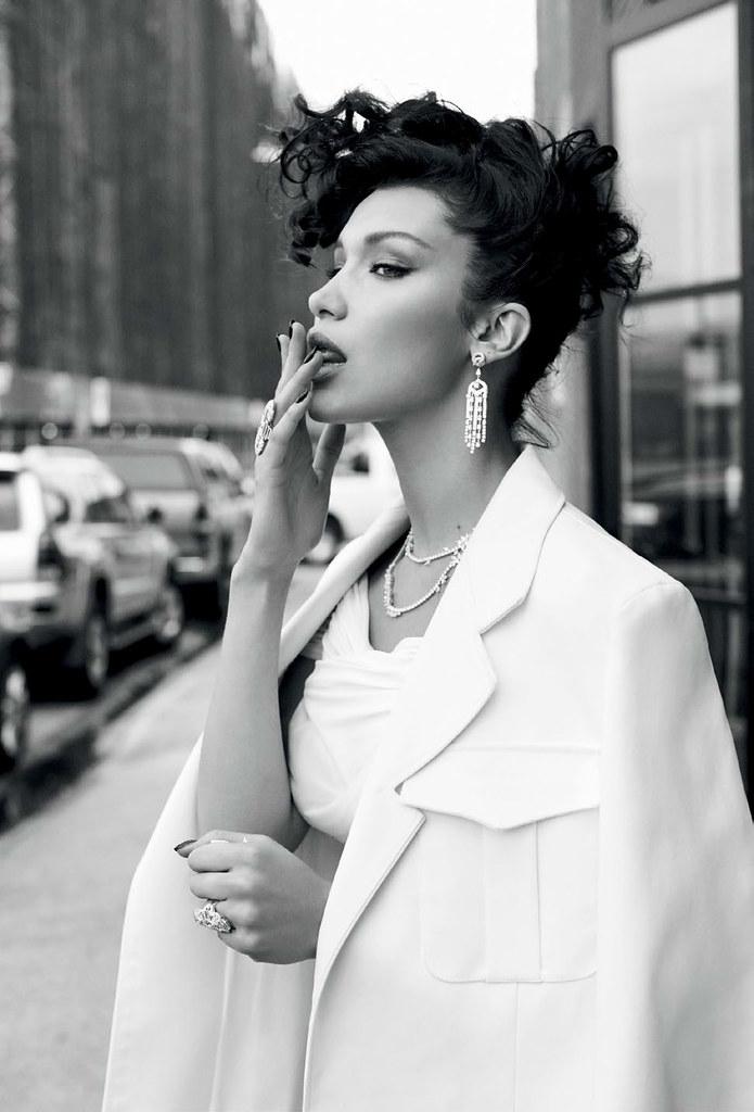 Белла Хадид — Фотосессия для «Vogue» TR 2016 – 3
