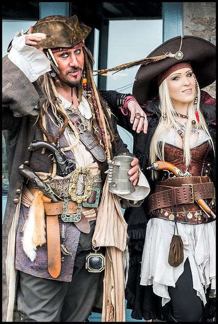 pirate duo | brixham