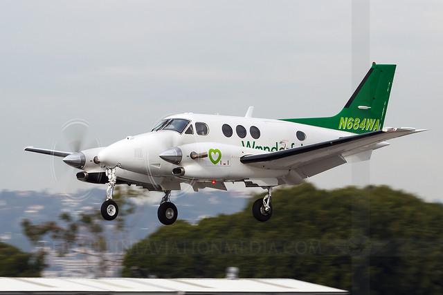 Beech C90GT King Air N684WA