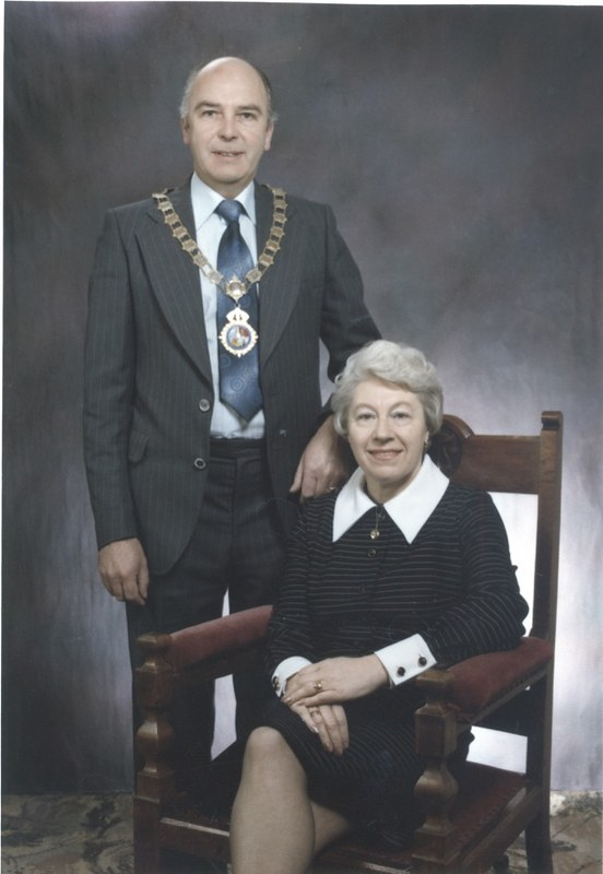 A Hill - Crowle Mayor 1974 - 75