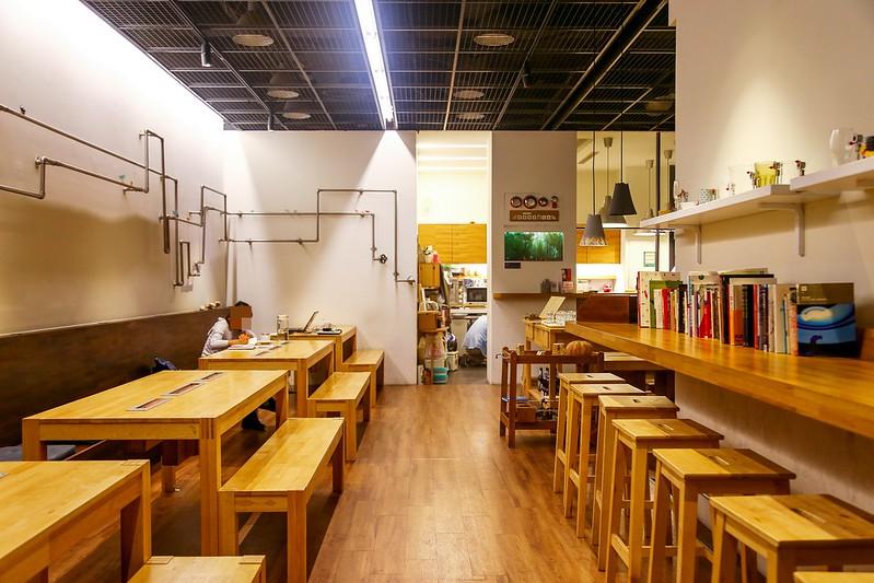 噪音咖啡館【台北咖啡館】Changee 噪咖,不限時、有網路有插座,可包場租場地,北投芝山捷運站的噪音咖啡館。