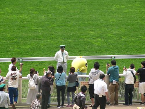 函館競馬場のふなっしーイベント