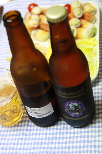 頒布会限定のさくらのビール(サンクトガーレン)