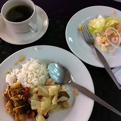 今日の朝ごはん #breakfast #Thailand