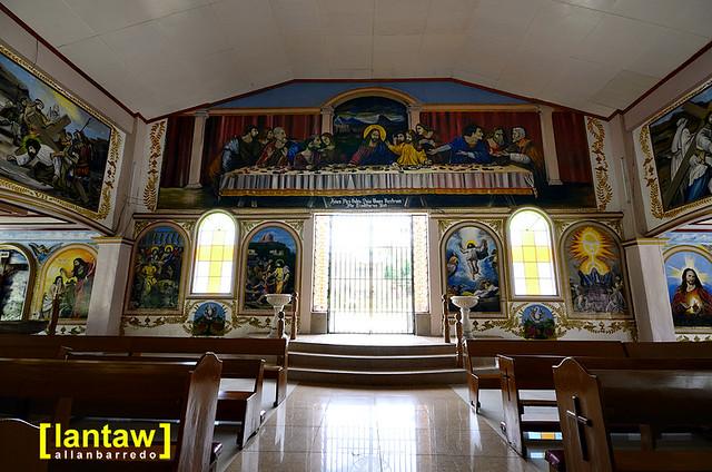 Larena Church Interior 3