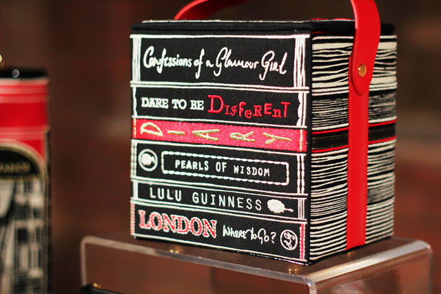 lulu guinness books bag aw12