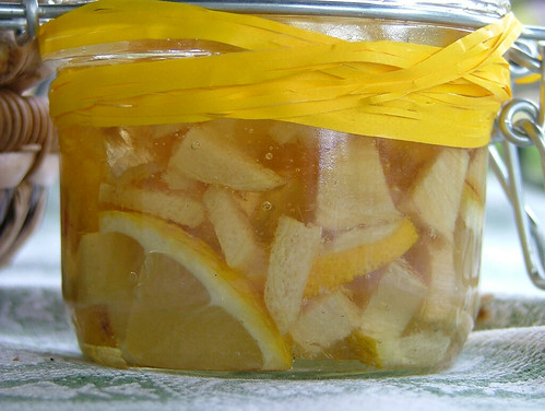 Sciroppo per la tosse al limone, zenzero e miele - Lemon, ginger and honey sirup for a sore throat