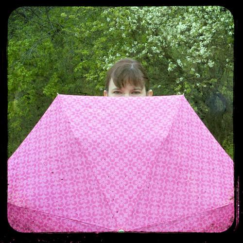 Pink Umbrella by The Shutterbug Eye™