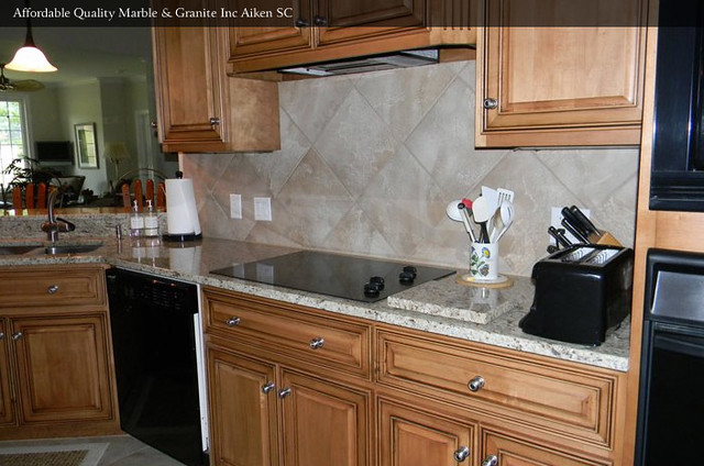 Almond Mauve Granite Kitchen Countertop  Flickr  Photo Sharing!