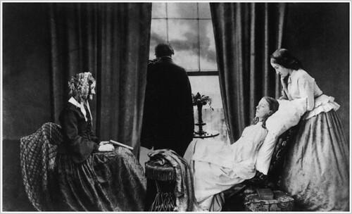 "Henry Peach Robinson, ""Fading Away' by realisme-preraphaelisme"