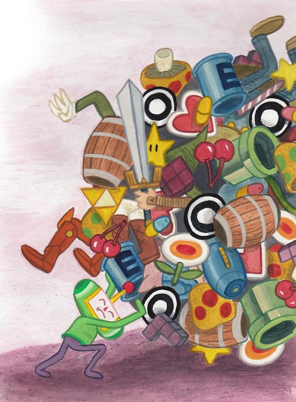 Katamari - obra de Jeremy Tinder