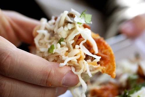 chicken taco @ tacos villa corona