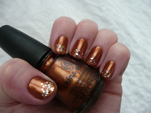 china glaze harvest moon 3
