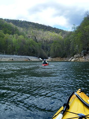 Paddling on Whitewater River