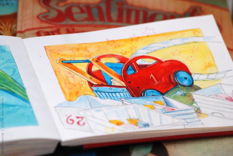 """My """"365"""" sketchbook"""