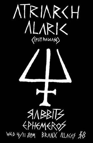4/11/12 Alaric/Atriarch/Rabbits/Ephemeros