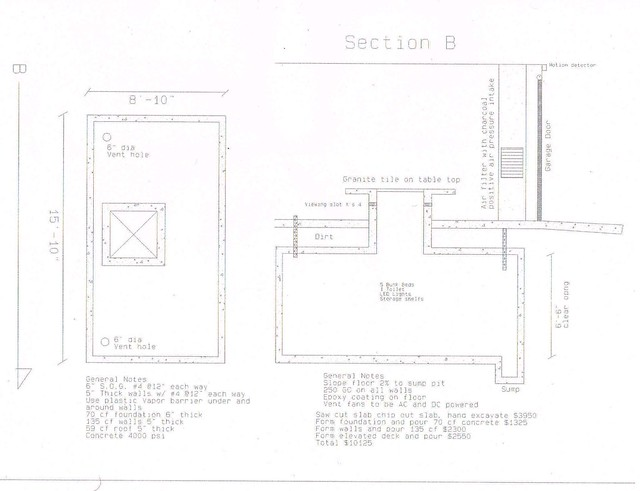 Underground Bunker Plans Flickr Photo Sharing